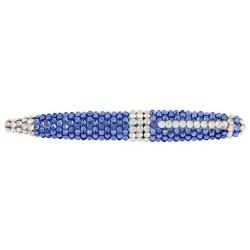 CR-04 Blue Mini Swarovski Pen