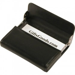 GS-4034-1 LEATHER BUSINESS CARD HOLDER