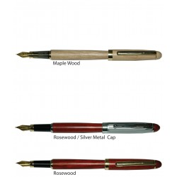 Wood Fountain Pen - W
