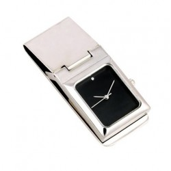GS-7031B RECTANGULAR WATCH MONEY CLIP